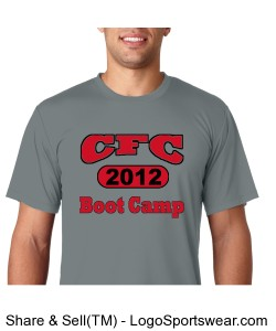 Hanes 4 oz. Cool Dri T-Shirt Design Zoom